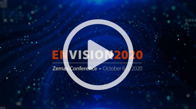 Invitation to Envision 2020 Zemax Conference