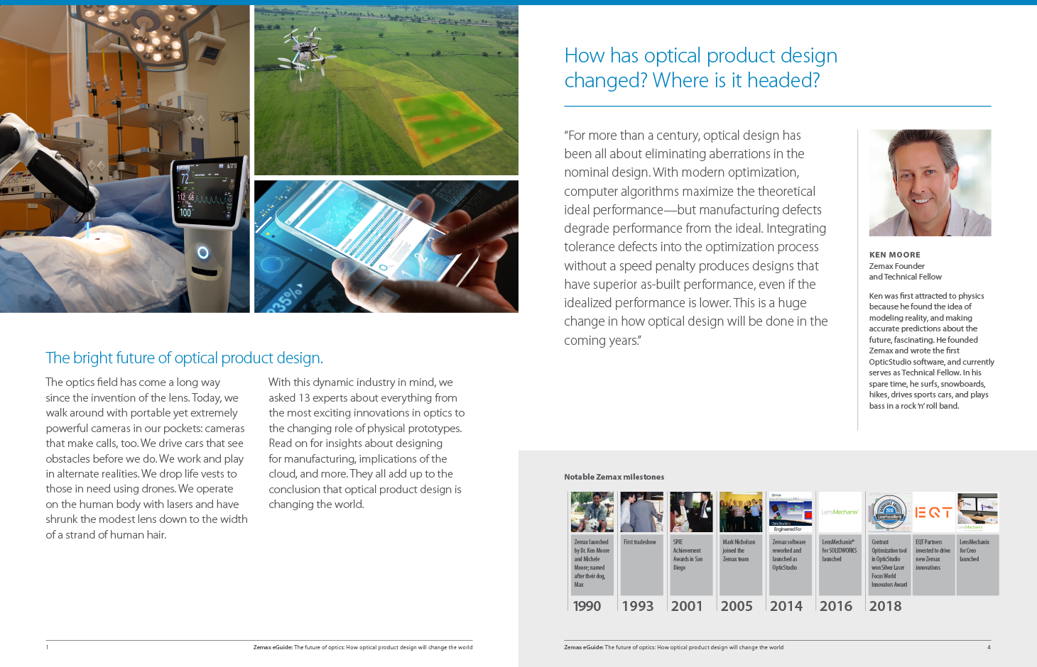 The future of optics: How optical product design will change the world Sneak Preview