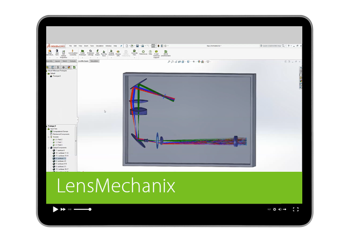 Now you can add fold mirrors to existing designs in LensMechanix 4.5!