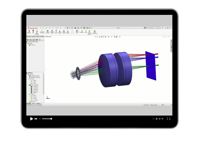 See how LensMechanix streamlines your workflow in SOLIDWORKS