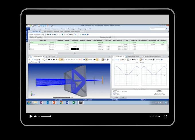 Comprehensive Optical System Design in OpticStudio