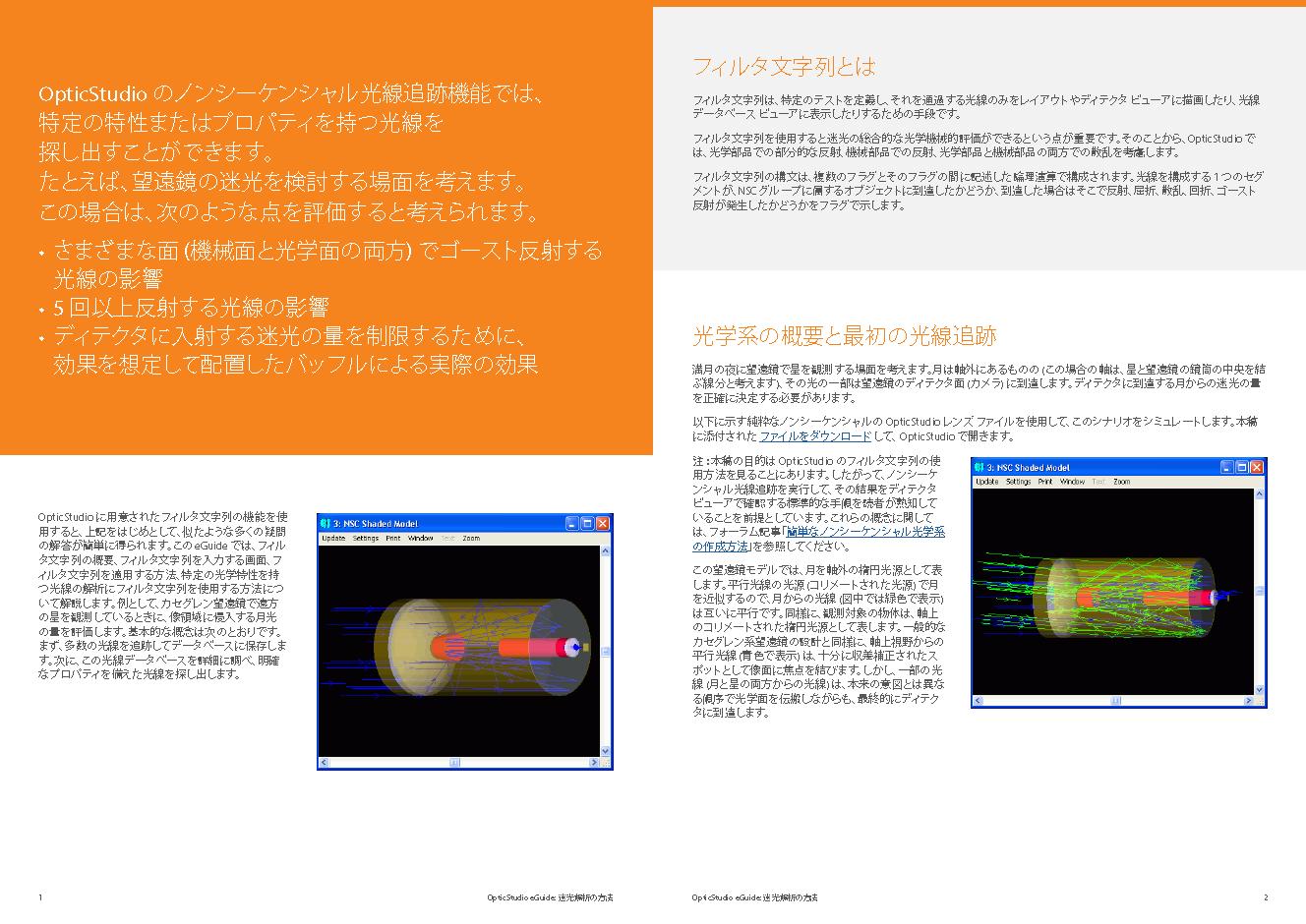 迷光解析の方法 Sneak Preview