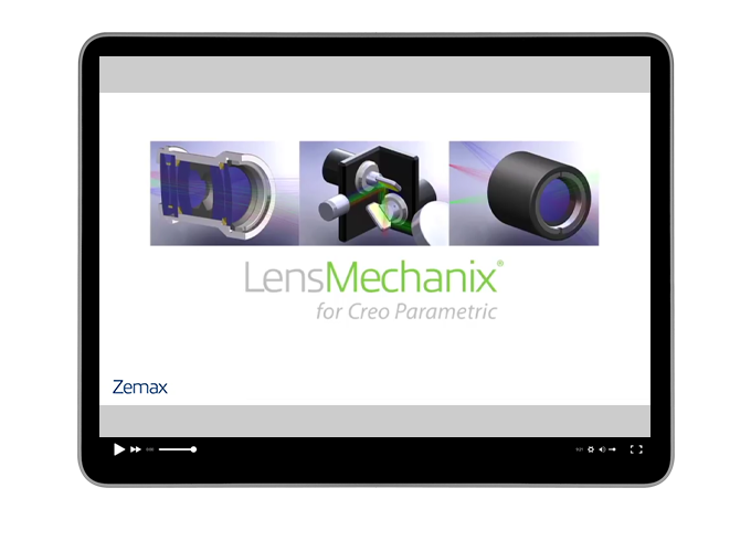 Top 5 ways to design an optomechanical virtual prototype in Creo