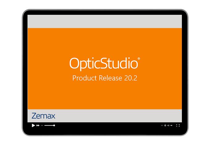What's new in OpticStudio 20.2