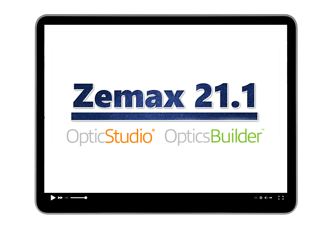 What's new in Zemax 21.1 product release