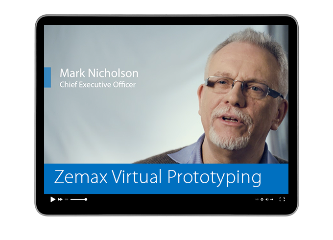 Zemax Virtual Prototyping 概要紹介 (英語)